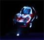 Heliodisplay mit 3D Auto