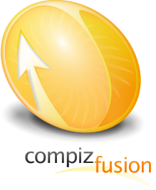 Orange Compiz Fusion Logo