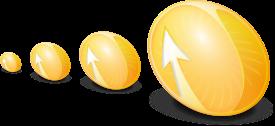 Orange Compiz Fusion Logo Small Icons