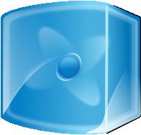 Blue Compiz Fusion Logo
