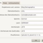 Poedit für WordPress Plug-Ins konfigurieren